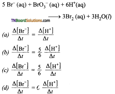 TN Board 12th Chemistry Important Questions Chapter 7 Chemical Kinetics 92