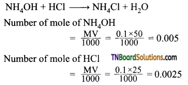 TN Board 12th Chemistry Important Questions Chapter 8 Ionic Equilibrium 26