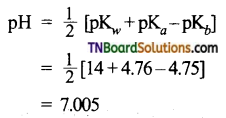 TN Board 12th Chemistry Important Questions Chapter 8 Ionic Equilibrium 29