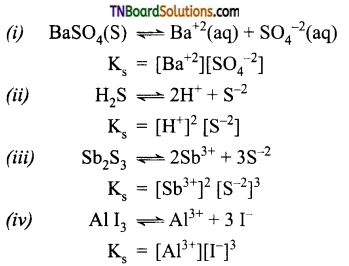 TN Board 12th Chemistry Important Questions Chapter 8 Ionic Equilibrium 35