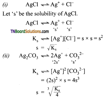 TN Board 12th Chemistry Important Questions Chapter 8 Ionic Equilibrium 36