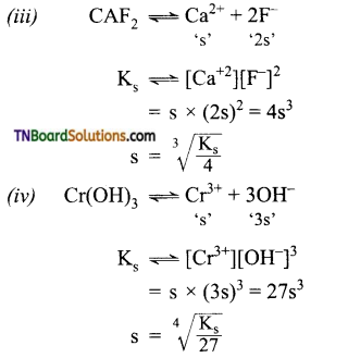 TN Board 12th Chemistry Important Questions Chapter 8 Ionic Equilibrium 37