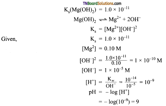 TN Board 12th Chemistry Important Questions Chapter 8 Ionic Equilibrium 42