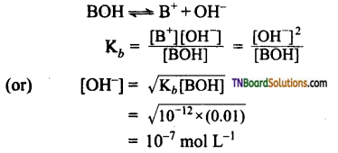 TN Board 12th Chemistry Important Questions Chapter 8 Ionic Equilibrium 45