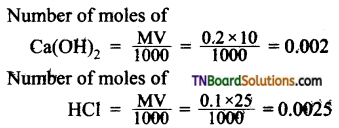TN Board 12th Chemistry Important Questions Chapter 8 Ionic Equilibrium 5