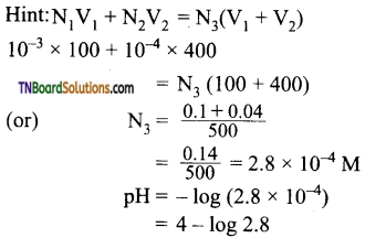 TN Board 12th Chemistry Important Questions Chapter 8 Ionic Equilibrium 50
