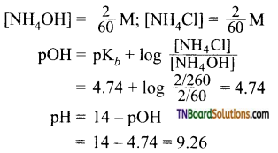 TN Board 12th Chemistry Important Questions Chapter 8 Ionic Equilibrium 53