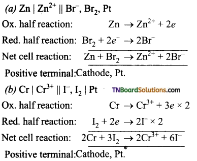 TN Board 12th Chemistry Important Questions Chapter 9 Electro Chemistry 17