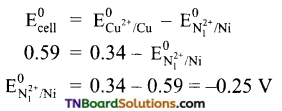 TN Board 12th Chemistry Important Questions Chapter 9 Electro Chemistry 19