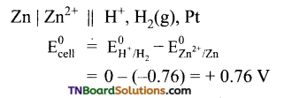 TN Board 12th Chemistry Important Questions Chapter 9 Electro Chemistry 25