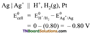 TN Board 12th Chemistry Important Questions Chapter 9 Electro Chemistry 27