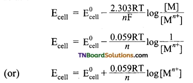 TN Board 12th Chemistry Important Questions Chapter 9 Electro Chemistry 30
