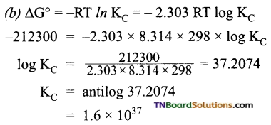 TN Board 12th Chemistry Important Questions Chapter 9 Electro Chemistry 39