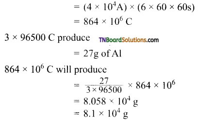 TN Board 12th Chemistry Important Questions Chapter 9 Electro Chemistry 44