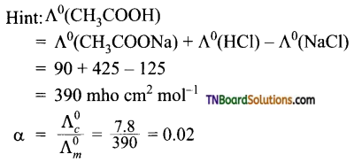 TN Board 12th Chemistry Important Questions Chapter 9 Electro Chemistry 48