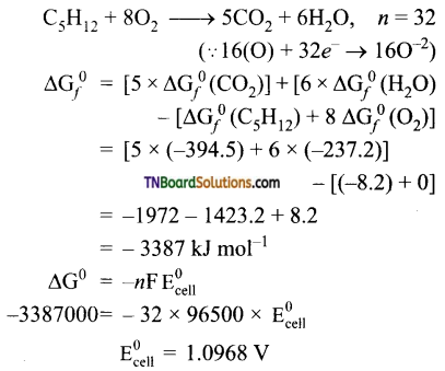 TN Board 12th Chemistry Important Questions Chapter 9 Electro Chemistry 57