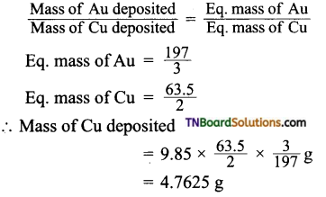 TN Board 12th Chemistry Important Questions Chapter 9 Electro Chemistry 6