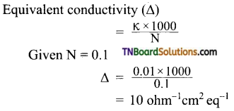 TN Board 12th Chemistry Important Questions Chapter 9 Electro Chemistry 9